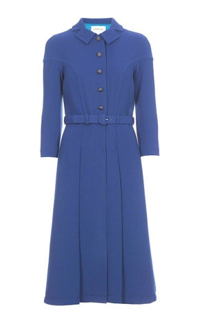 Eponine AW 16 sapphire blue coat dress