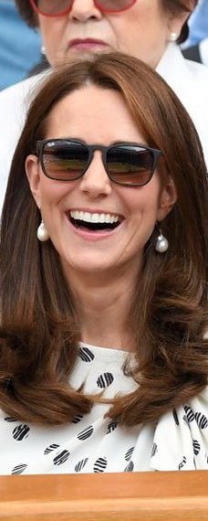 Ray-Ban Youngster Sunglasses as seen on Kate Middleton, the Duchess of Cambridge at Wimbledon ladies singles final 2018