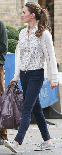 Jack Wills Debarn blouse as seen on Kate Middleton, the Duchess of Cambridge