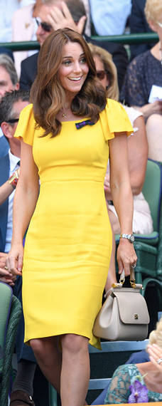 Dolce & Gabbana Rose Sicily Bag as seen on Kate Middleton, The Duchess of Cambridge at Wimbledon Men's singles final 2018