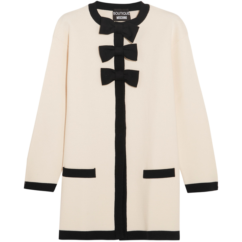 Boutique Moschino Bow-Embellished Jacket
