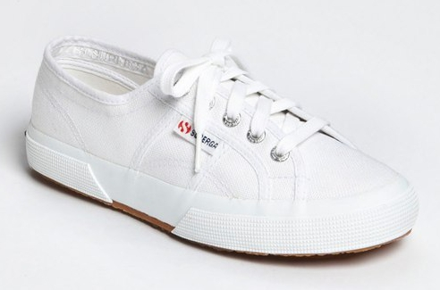Superga 'Cotu' Sneaker white canvas