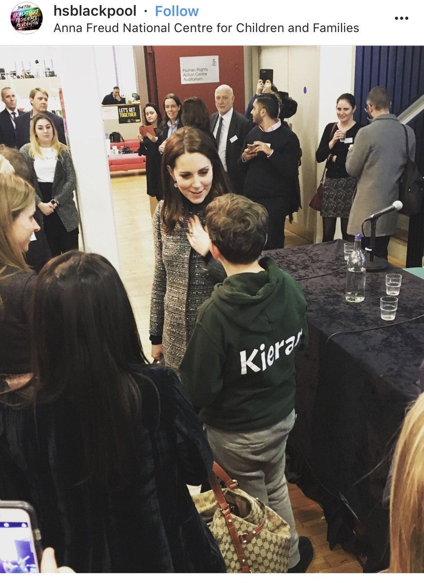 Kate Middleton makes surprise appearance at Anna Freud NCCF Conference