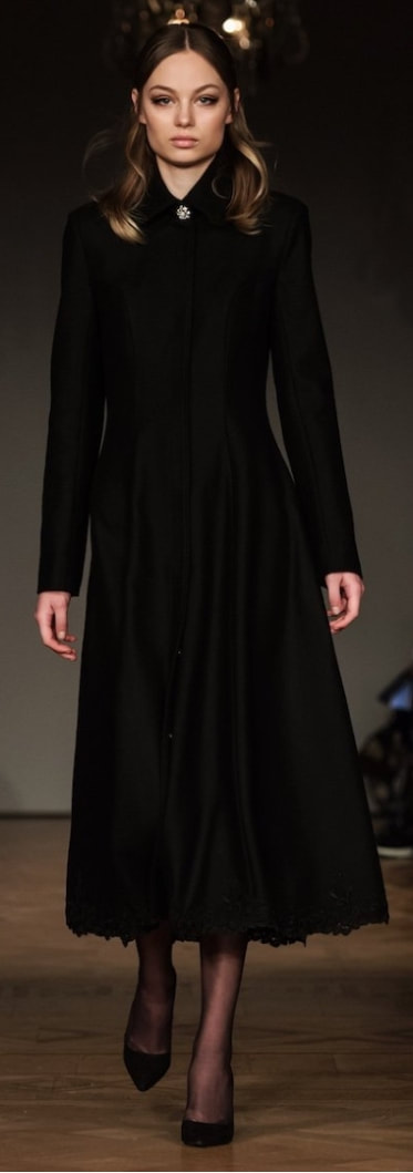 Ida Sjöstedt Antonia coat from A/W 2018 collection