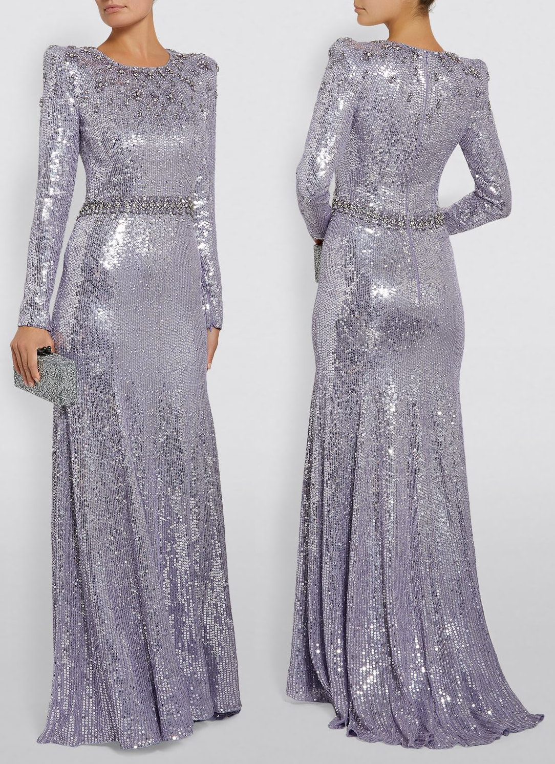 Jenny Packham Georgia sequin gown