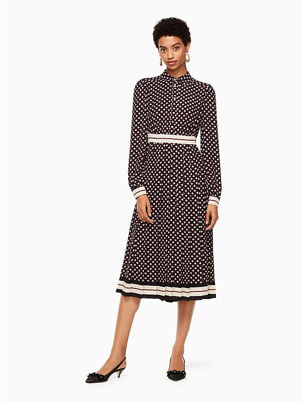 Kate Spade New York Diamond Print Shirtdress