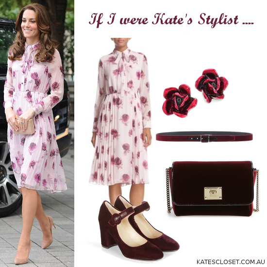 How to style the Kate Spade New York Encore rose dress