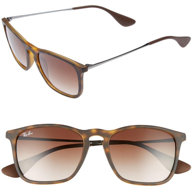 Ray-Ban Youngster Sunglasses in Brown Rubber