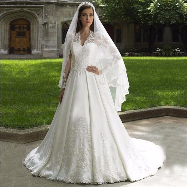 b434a6fa982c8f Kate Middleton Wedding Dress - Kate Middleton Dresses - Kate s Closet