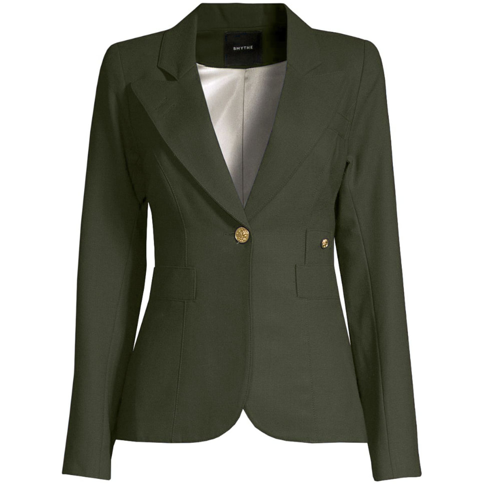Smythe Army Green Duchess Blazer