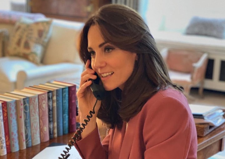 Kate Middleton Duchess of Cambridge home office