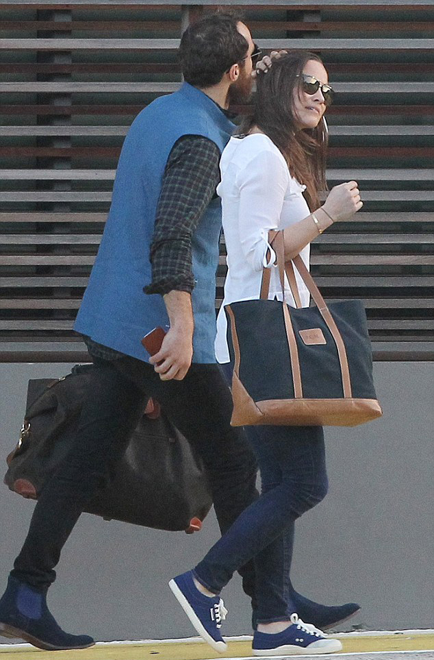 Little Miss Big Classic Monogrammed Tote as seen on Pippa Middleton