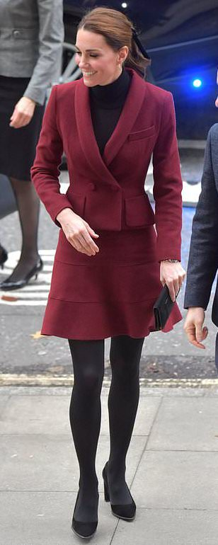 J.Crew Black Velvet Hair Tie as seen on Kate Middleton, The Duchess of Cambridge