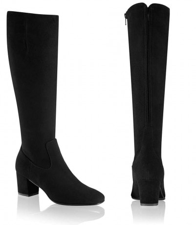 Russell & Bromley Hi Ride Mid Heel Riding Boots