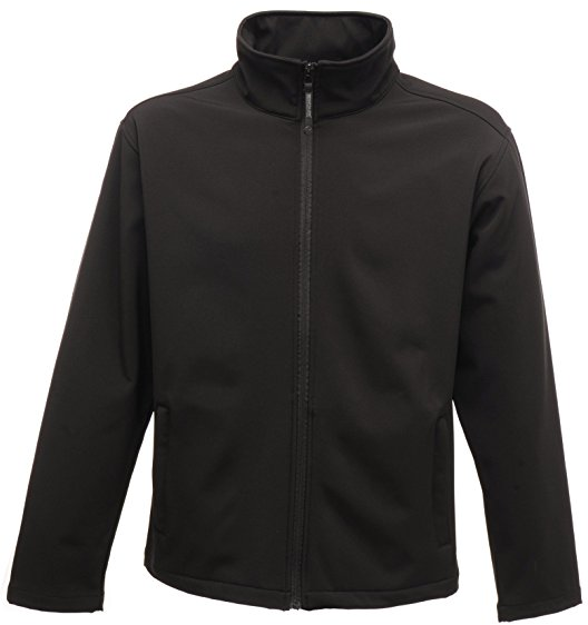 Regatta Professional Women's Black Print Perfect Softshell Jacket