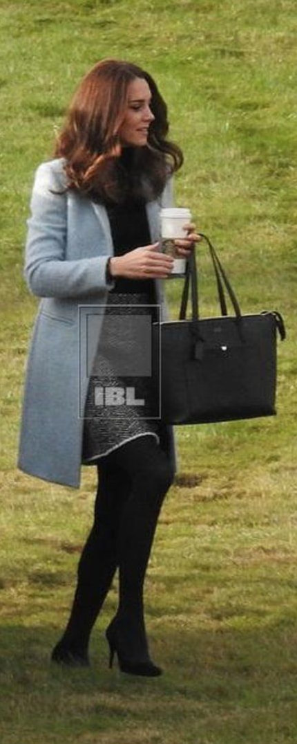 Smythson Panama East West Zip Tote as seen on Kate Middleton, Duchess of Cambridge