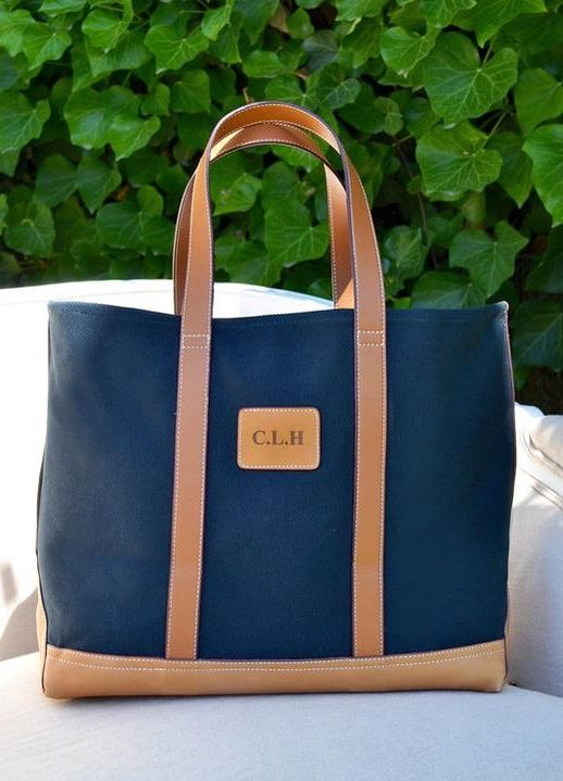 Little Miss Big Classic Monogrammed Tote