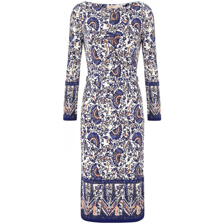 Tory Burch 'Chrissy' Madura Print Dress